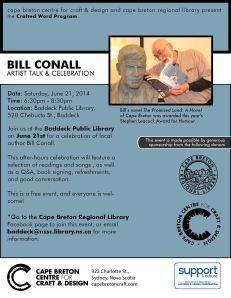 BillConnellCelebration PosterJune2014