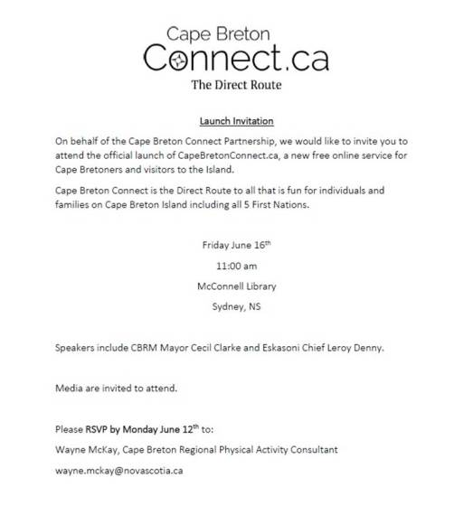 CapeBretonConnectLaunchInvitationJune162017