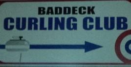 BaddeckCurlingClubEntrySign