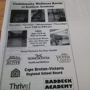CommunityWellnessRoomBaddeckFall2014