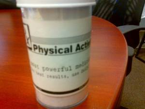 PhysicalActivityPrescriptionBottle