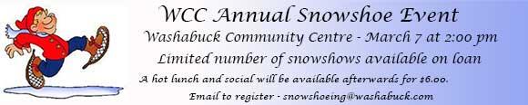 WinterActiveFest2015WashabuckCommunityCentreSnowshoeeventMarch72015