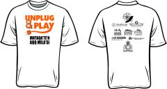 UNPLUG AND PLAY TSHIRTS MARCH 2015