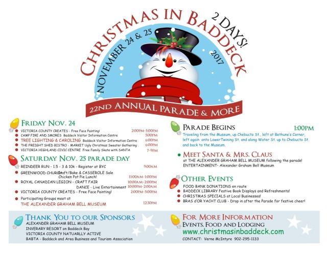 CHRISTMAS IN BADDECK 2017 - Horizontal posting edit