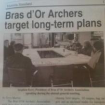 Bras d'Or Archers AssociationAGM